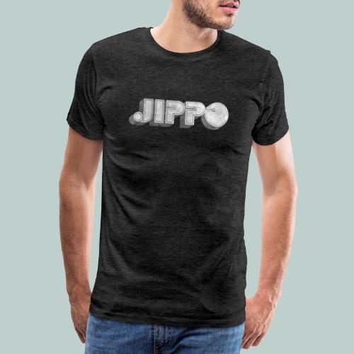 Retro JIPPO logo - Miesten premium t-paita
