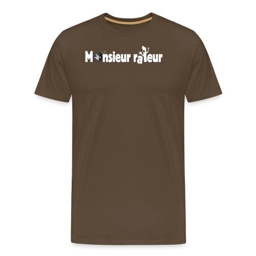 monsieur râleur - T-shirt Premium Homme