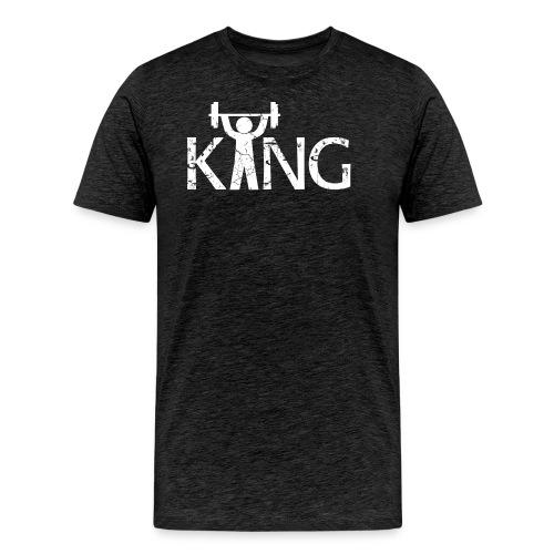 King of the Gym - Männer Premium T-Shirt