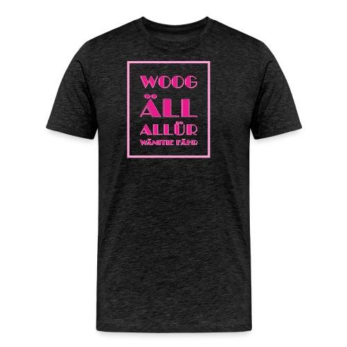 Shirt für Fashionistas mit Rechtschreibschwäche - Männer Premium T-Shirt