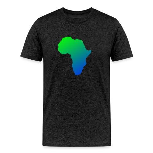 afrikanska logga 2 0 - Premium-T-shirt herr