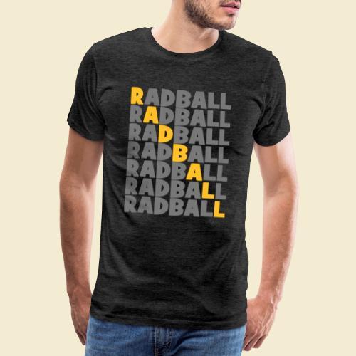 Radball   Diagonal - Männer Premium T-Shirt