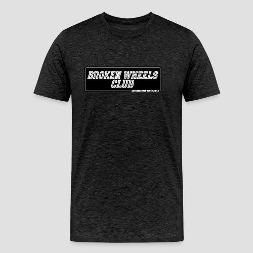 """BROKEN WHEELS CLUB"" - Männer Premium T-Shirt"