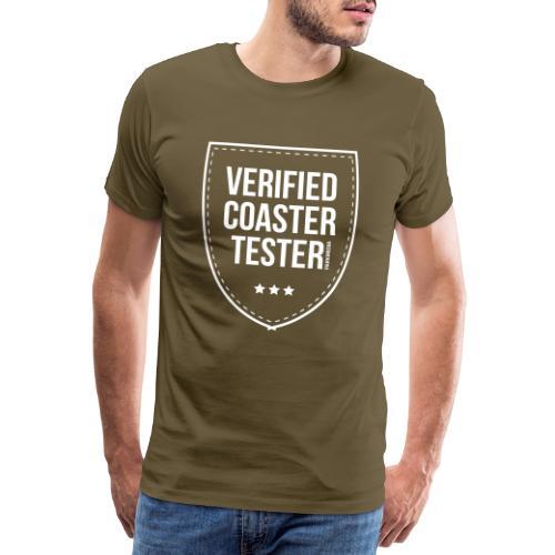 Badge CoasterTester vérifié - T-shirt Premium Homme