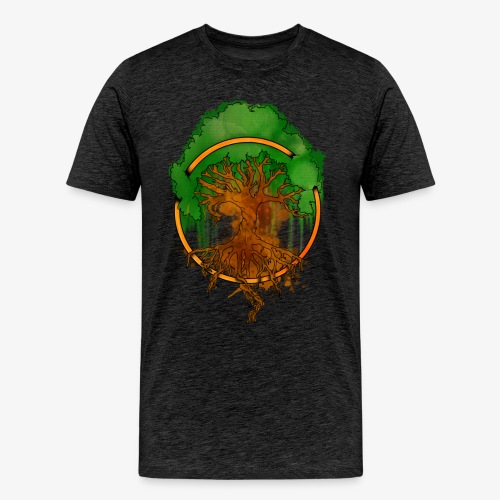 YGGDRASIL By TheRawburt - Premium-T-shirt herr