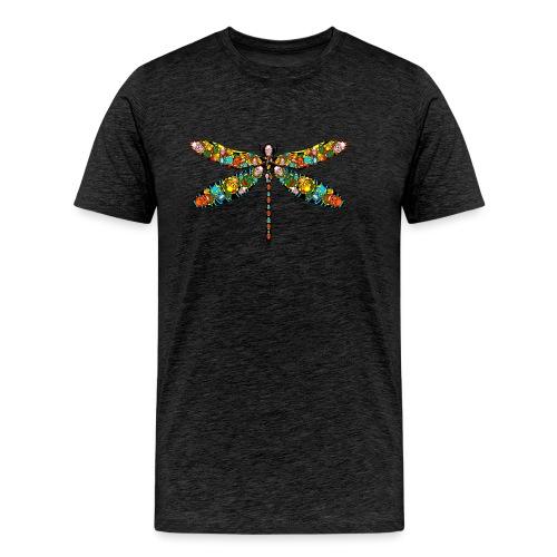 DRAGONFLY SKULL - Männer Premium T-Shirt