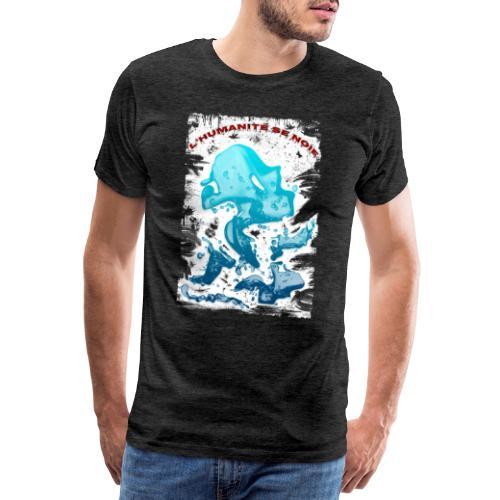 L'humanité se noie style grunge - Tshirtchicetchoc - T-shirt Premium Homme