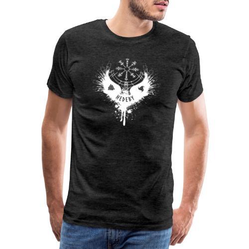 Wikinger Hedeby Vegvisir - Männer Premium T-Shirt