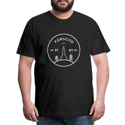 Forschd - est. 1161 - Männer Premium T-Shirt
