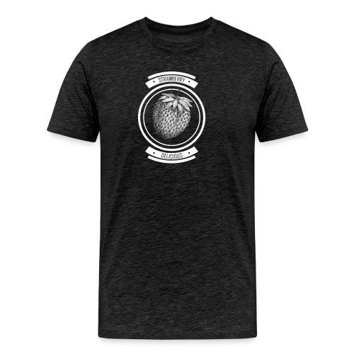 Strawberries - Men's Premium T-Shirt
