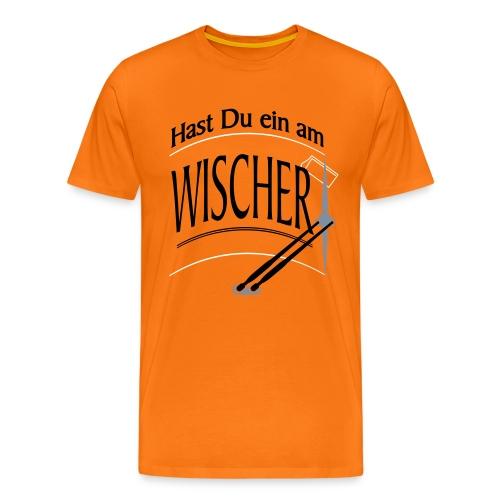 Hast Du ein am Wischer - Bus Truck wiper slang - Männer Premium T-Shirt