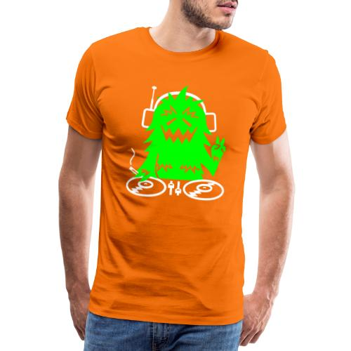 BD DJ Hairy - Männer Premium T-Shirt