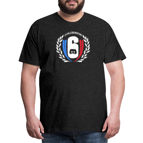 Logo LaSalleDeBriefing version painting - T-shirt Premium Homme