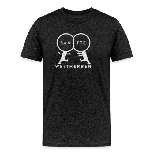 sanfte weltherren - Männer Premium T-Shirt