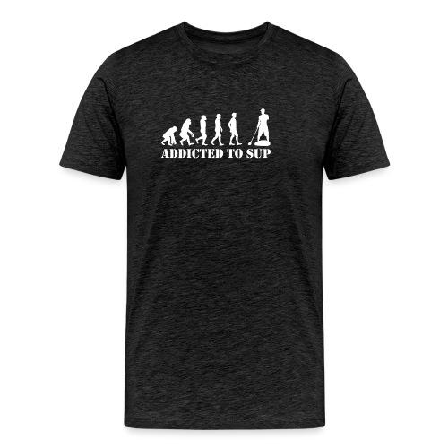 Evolution Addicted to SUP White - T-shirt Premium Homme