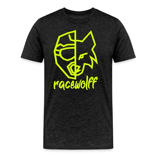 racewolff Logo 0RWGE - Männer Premium T-Shirt
