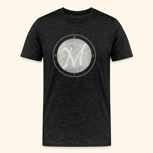 Montis logo - Premium-T-shirt herr