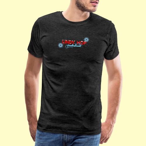 Lindy Hop Wonderland Tanz T-shirt - Männer Premium T-Shirt