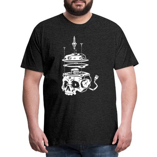 Piston_Skull - T-shirt Premium Homme