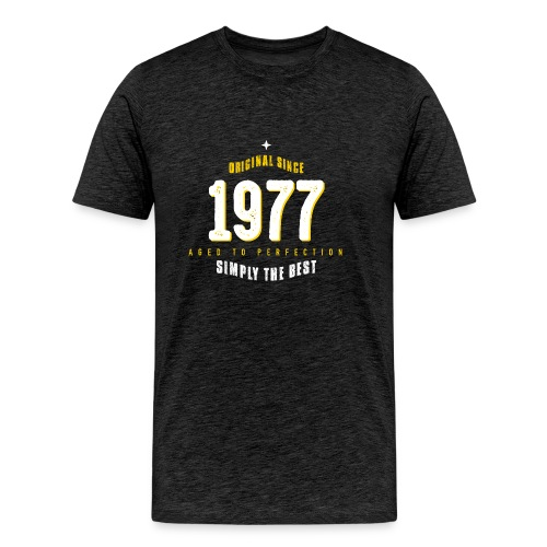 original since 1977 simply the best 40th birthday - Men's Premium T-Shirt