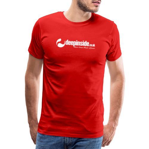 DEEPINSIDE World Reference logo white - Men's Premium T-Shirt