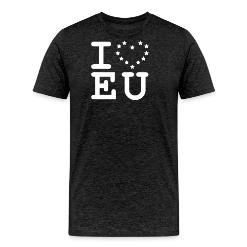 i love EU European Union Brexit - Men's Premium T-Shirt