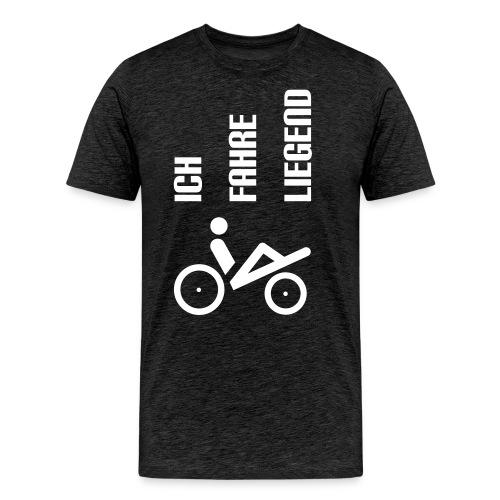 ich_fahre_liegend_einspurer Kopie.eps - Männer Premium T-Shirt