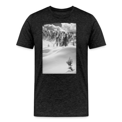 Winterlandschaft #1 - Männer Premium T-Shirt