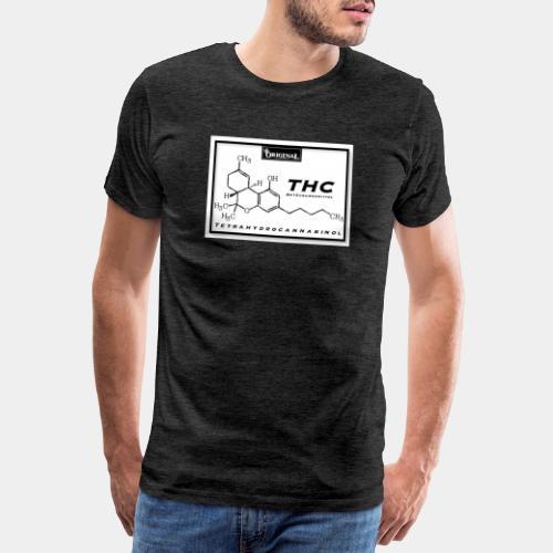 Original Grow Flow®️ Tetrahydrocannabinol - Männer Premium T-Shirt