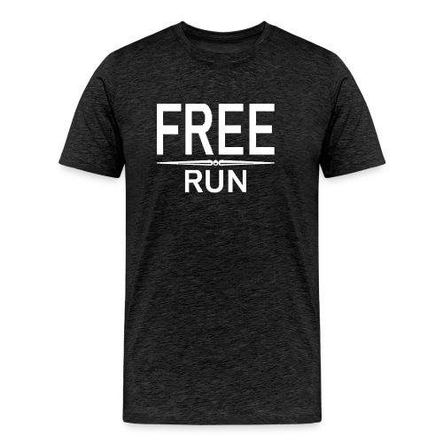FREE RUN - Mannen Premium T-shirt