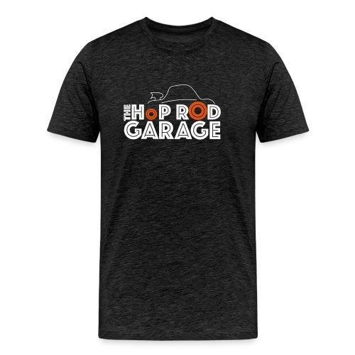 Hop Rod Garage - Premium T-skjorte for menn