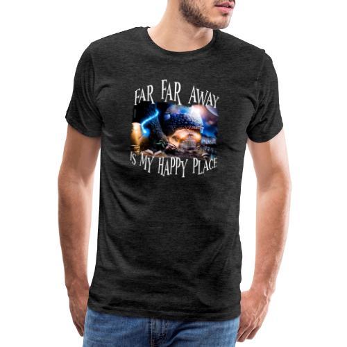 My Happy Place - Mannen Premium T-shirt
