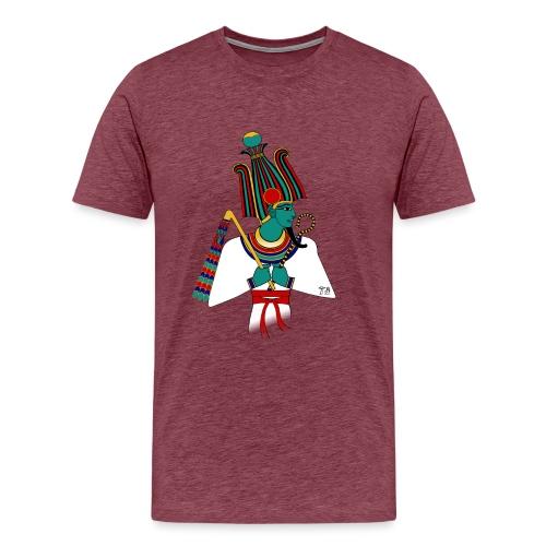 ÄGYPTEN - Osiris - altägyptische Gottheit - Männer Premium T-Shirt