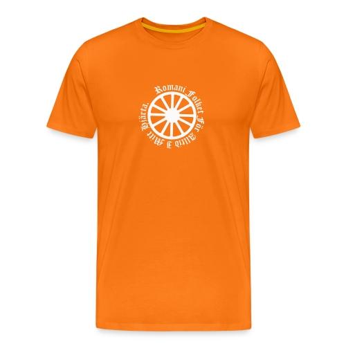 626878 2406639 lennyhjulromanifolketivit orig - Premium-T-shirt herr