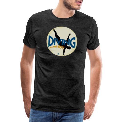 Diving like its 1977 vintaged - Männer Premium T-Shirt