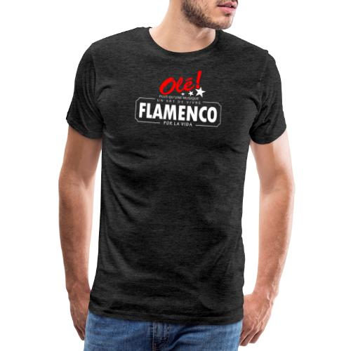 Flamenco por la vida - T-shirt Premium Homme