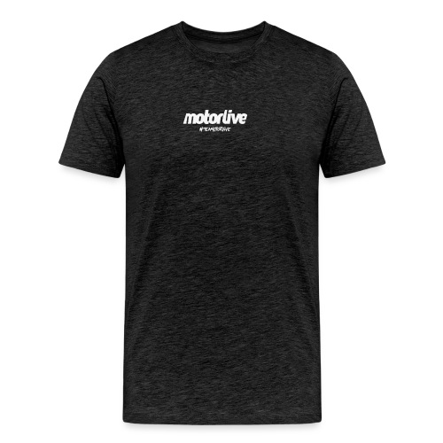motorlive blanc - T-shirt Premium Homme