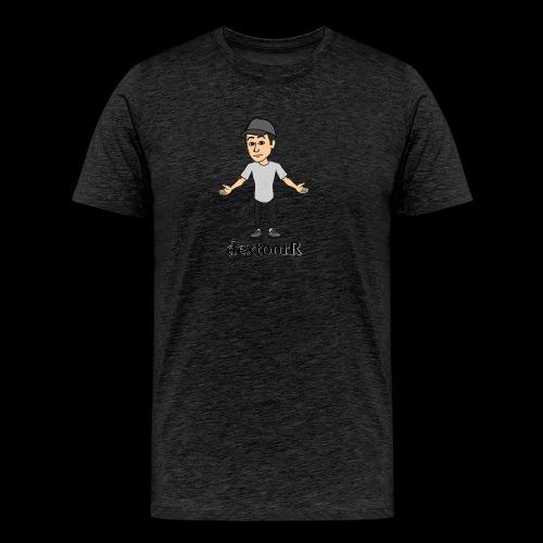 dextoorR - Bitmoji minta - Men's Premium T-Shirt