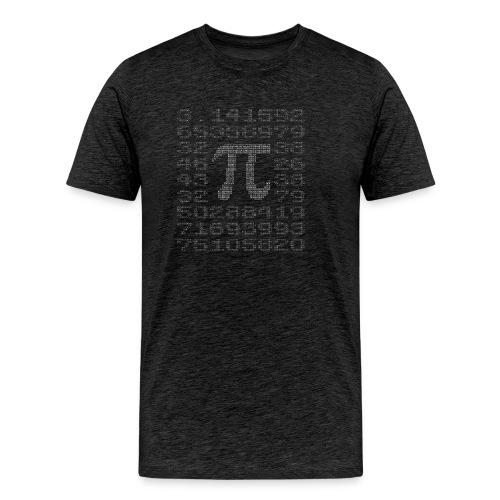 Kreiszahl π (Verhältnis Kreisumfang : Durchmesser) - Männer Premium T-Shirt
