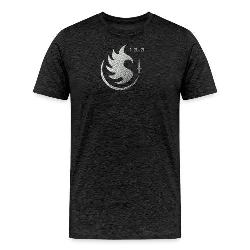 Patch IR 13 3 TRAME BLACK INVERT - T-shirt Premium Homme