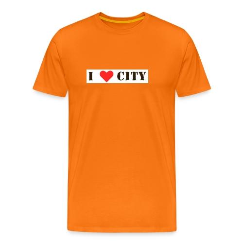 2lovecity - Men's Premium T-Shirt