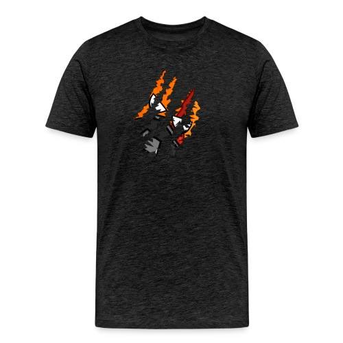 zombro ripping png - Herre premium T-shirt