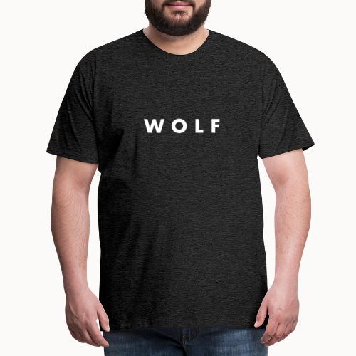 wolf - T-shirt Premium Homme