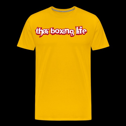 MTS92 THAI BOXING LIFE - T-shirt Premium Homme