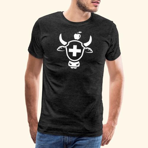 T-SHIRT MIT SCHWEIZER MOTIV, SCHWEIZER WAPPEN - Männer Premium T-Shirt