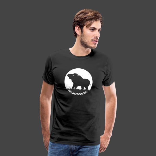 Nachtschicht bei Schweinesonne - Jägershirt