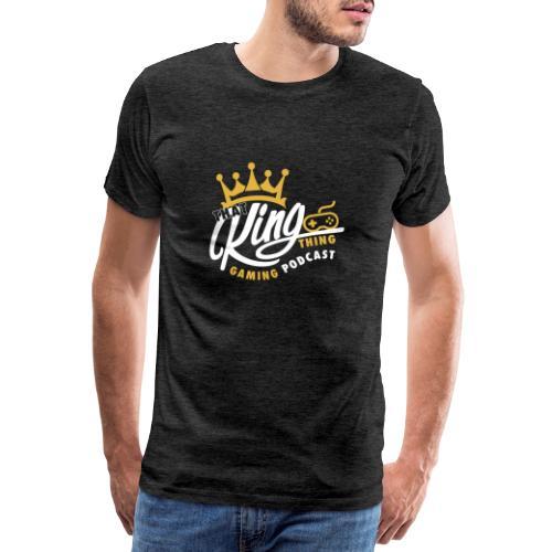 That King Thing Logo - Men's Premium T-Shirt