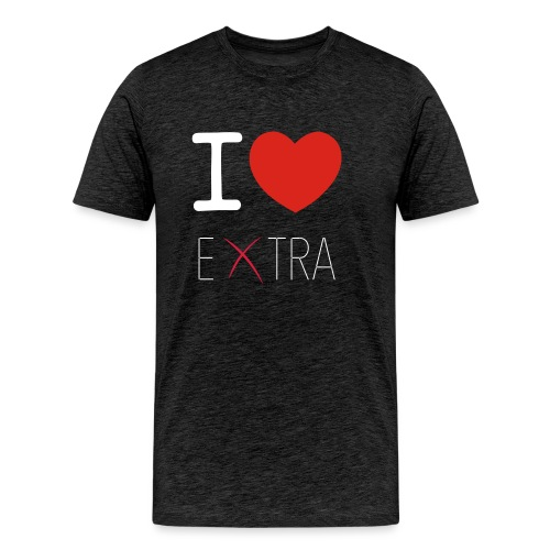 LOGO EXTRA vector - Maglietta Premium da uomo