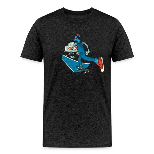 Skater Dog - Camiseta premium hombre