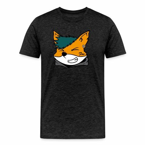 Le petit Fox [LOGO PERSONNALISABLE] - T-shirt Premium Homme